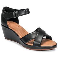 Zapatos Mujer Sandalias Clarks UN PLAZA CROSS Negro