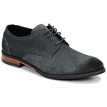 Zapatos Hombre Derbie Clarks FLOW PLAIN Gris