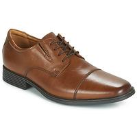 Zapatos Hombre Derbie Clarks TILDEN CAP Marrón