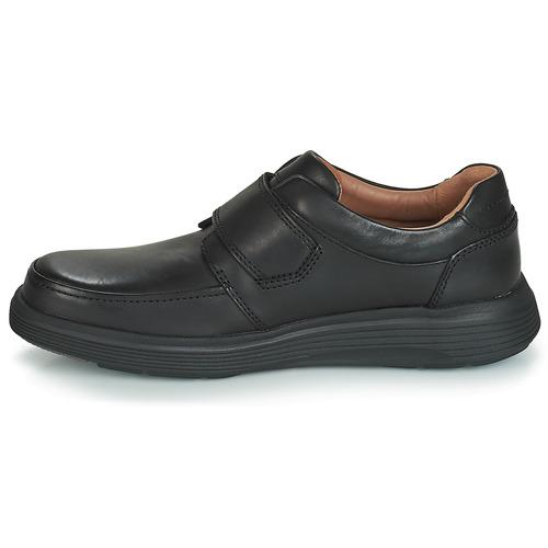 Un Abode Zapatos Derbie Hombre Clarks Negro Strap rxWCdoeB