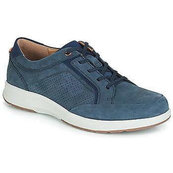 Zapatos Hombre Zapatillas bajas Clarks UN TRAIL FORM Marino 6188f15ce62