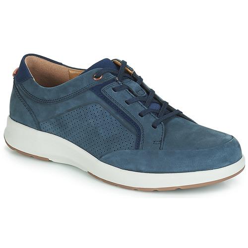 Zapatos Hombre Zapatillas bajas Clarks UN TRAIL FORM Marino