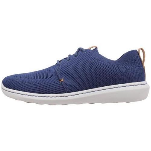 Zapatos Hombre Zapatillas bajas Clarks Step Urban Mix Azul