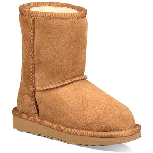 Zapatos Niña Botas de nieve UGG Kids Classic II Beige