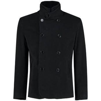 textil Abrigos De La Creme Blazer casual / formal para hombre Black