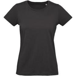 textil Mujer Camisetas manga corta B And C Inspire Negro