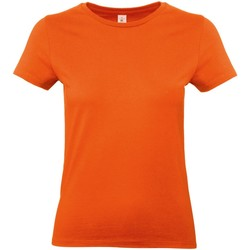 textil Mujer Camisetas manga corta B And C E190 Naranja