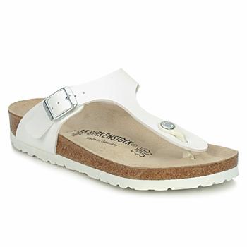 Zapatos Mujer Chanclas Birkenstock GIZEH Blanco
