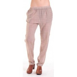 textil Mujer Pantalones fluidos American Vintage PANTALON ABI178 MIEL/SABLE Beige