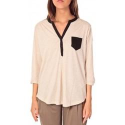 textil Mujer Tops / Blusas Tom Tailor Blouse Shirt Écru Beige