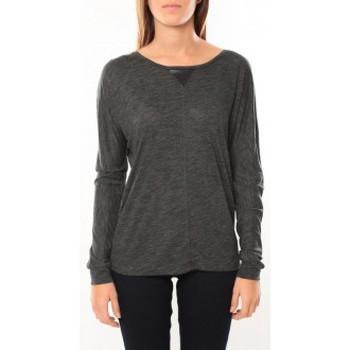 textil Mujer Camisetas manga larga Vero Moda Point l/s Top it 10100690 Anthracite Gris