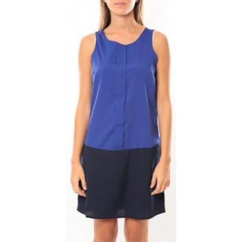textil Mujer Vestidos cortos Vero Moda Neje sl Short Dress 10100937 Bleu/Noir Azul