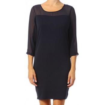 textil Mujer Vestidos cortos Vero Moda Jake 3/4 Short Dress It 10118490 Black iris Negro