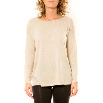 textil Mujer Jerséis Vision De Reve Vision de Rêve Pull 12006 Écru Beige