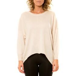 textil Mujer Jerséis Vision De Reve Vision de Rêve Pull 12021 Écru Beige
