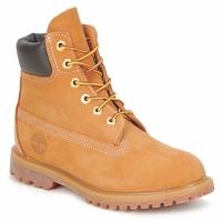 Zapatos Mujer Botas de caña baja Timberland 6 IN PREMIUM BOOT Beige