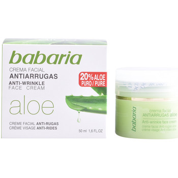 Belleza Mujer Antiedad & antiarrugas Babaria Aloe Vera Crema Antiarrugas  50 ml