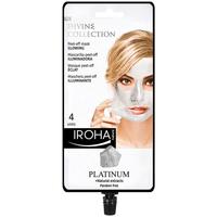 Belleza Mujer Mascarillas & exfoliantes Iroha Nature Platinum Peel-off Glowing Mask  4 uses