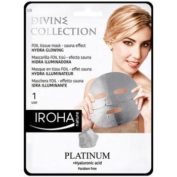 Belleza Mujer Mascarillas & exfoliantes Iroha Nature Platinum Tissue Hydra-glowing Face Mask  1 use