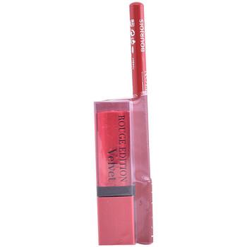 Belleza Mujer Pintalabios Bourjois Rouge Edition Velvet Lipstick 13+contour Lipliner 6 Gratis 2