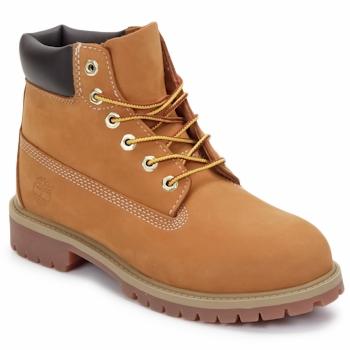 Zapatos Niños Botas de caña baja Timberland 6 IN PREMIUM WP BOOT Marrón