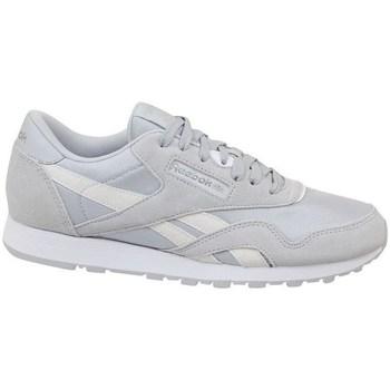Zapatos Niños Zapatillas bajas Reebok Sport CL Nylon Skull Blanco
