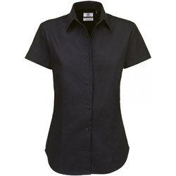 textil Mujer Camisas B And C SWT84 Negro