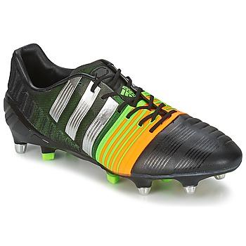 Zapatos Hombre Fútbol adidas Originals NITROCHARGE 1.0 SG Negro / Amarillo