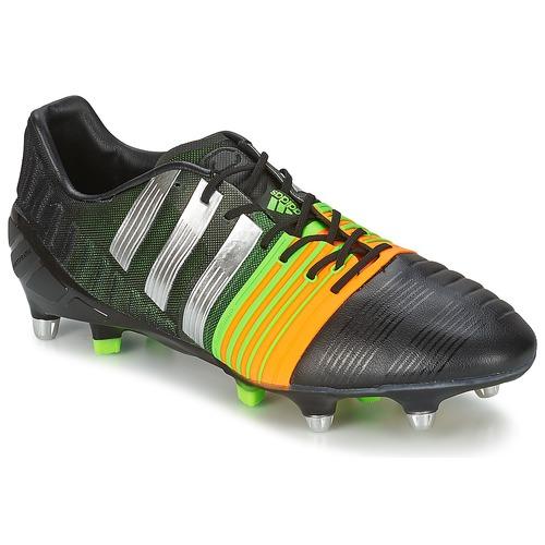 Grandes descuentos últimos zapatos adidas Performance NITROCHARGE 1.0 SG Negro / Amarillo - Envío gratis Nueva promoción - Zapatos Fútbol Hombre