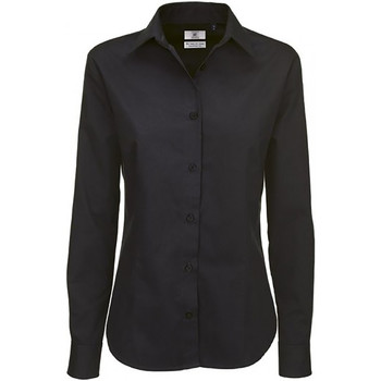 textil Mujer Camisas B And C SWT83 Negro