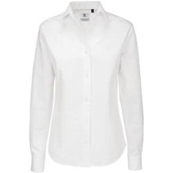textil Mujer Camisas B And C SWT83 Blanco
