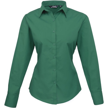 textil Mujer Camisas Premier PR300 Verde esmeralda