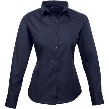textil Mujer Camisas Premier PR300 Azul marino