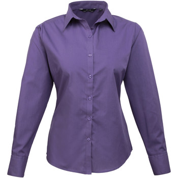 textil Mujer Camisas Premier PR300 Púrpura