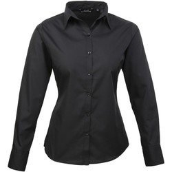 textil Mujer Camisas Premier PR300 Negro