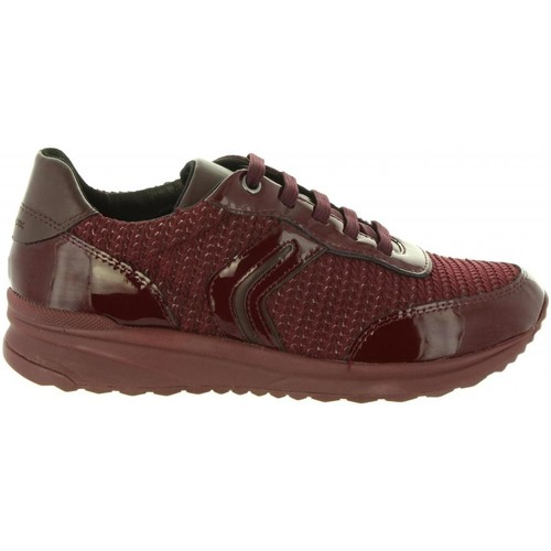 Zapatos Mujer Zapatillas bajas Geox D842SA 0AS66 D AIRELL Rojo