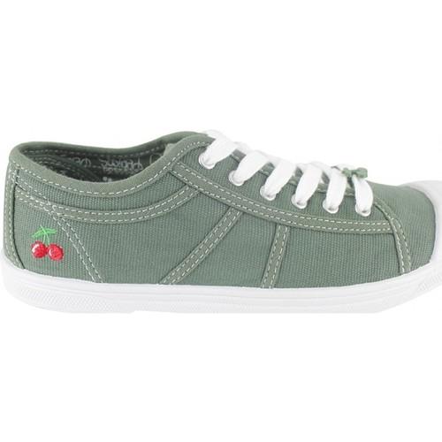 Zapatos Mujer Tenis Le Temps des Cerises Basket Basic 02 Sea Pray Verde