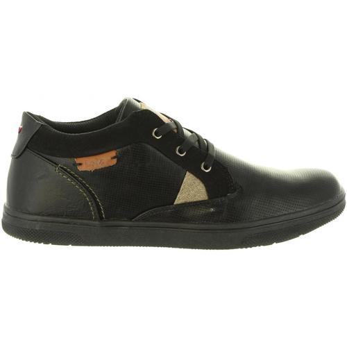 Zapatos Hombre Zapatillas bajas Lois 84723 Negro