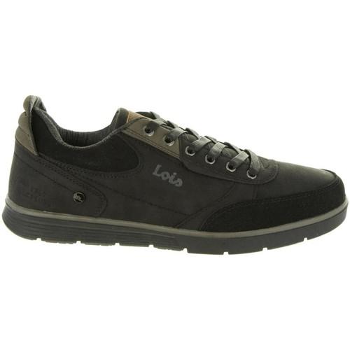 Zapatos Hombre Zapatillas bajas Lois 84720 Negro