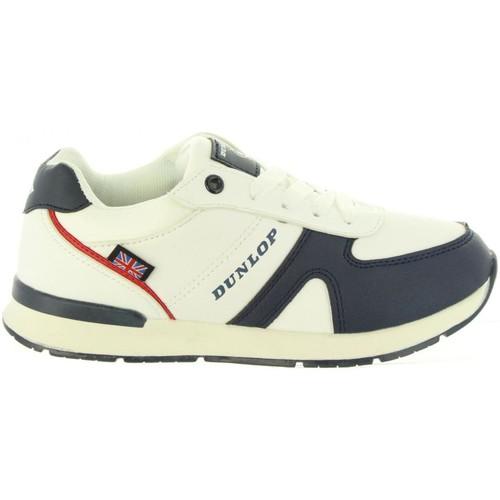 Zapatos Niños Zapatillas bajas Dunlop 35323 Blanco