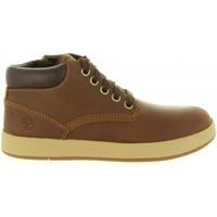 Zapatos Niños Botas de caña baja Timberland A1SLX DAVIS Marr?n