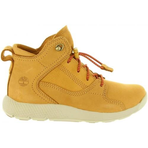 Zapatos Niños Botas de caña baja Timberland A1SLY FLYROAM Amarillo