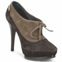 Zapatos Mujer Low boots Alberto Gozzi CAMOSCIO ARATY Marrón