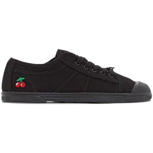 Zapatos Tenis Le Temps des Cerises Basket Basic 02 Mono Black Negro