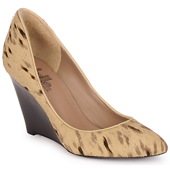 Zapatos Mujer Zapatos de tacón Belle by Sigerson Morrison HAIRMIL Beige / Negro