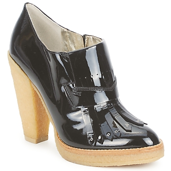 Zapatos Mujer Low boots Belle by Sigerson Morrison SHEEP Negro / Stone