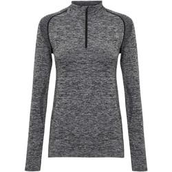 textil Mujer Camisetas manga larga Tridri TR205 Carbón