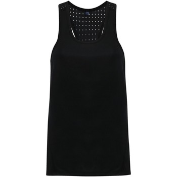 textil Mujer Camisetas sin mangas Tridri TR041 Negro