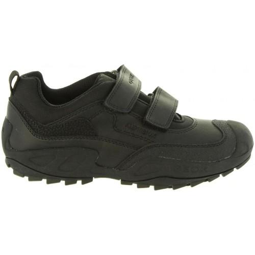 Zapatos Niño Zapatillas bajas Geox J841WB 05411 J NEW SAVAGE Negro