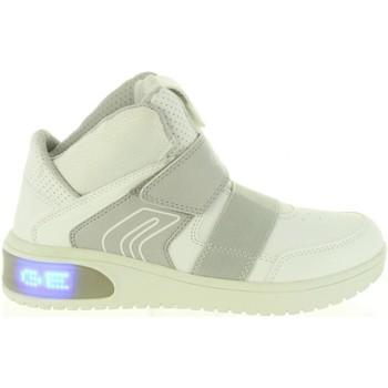 Zapatos Niños Zapatillas altas Geox J847QA 05411 J XLED Blanco